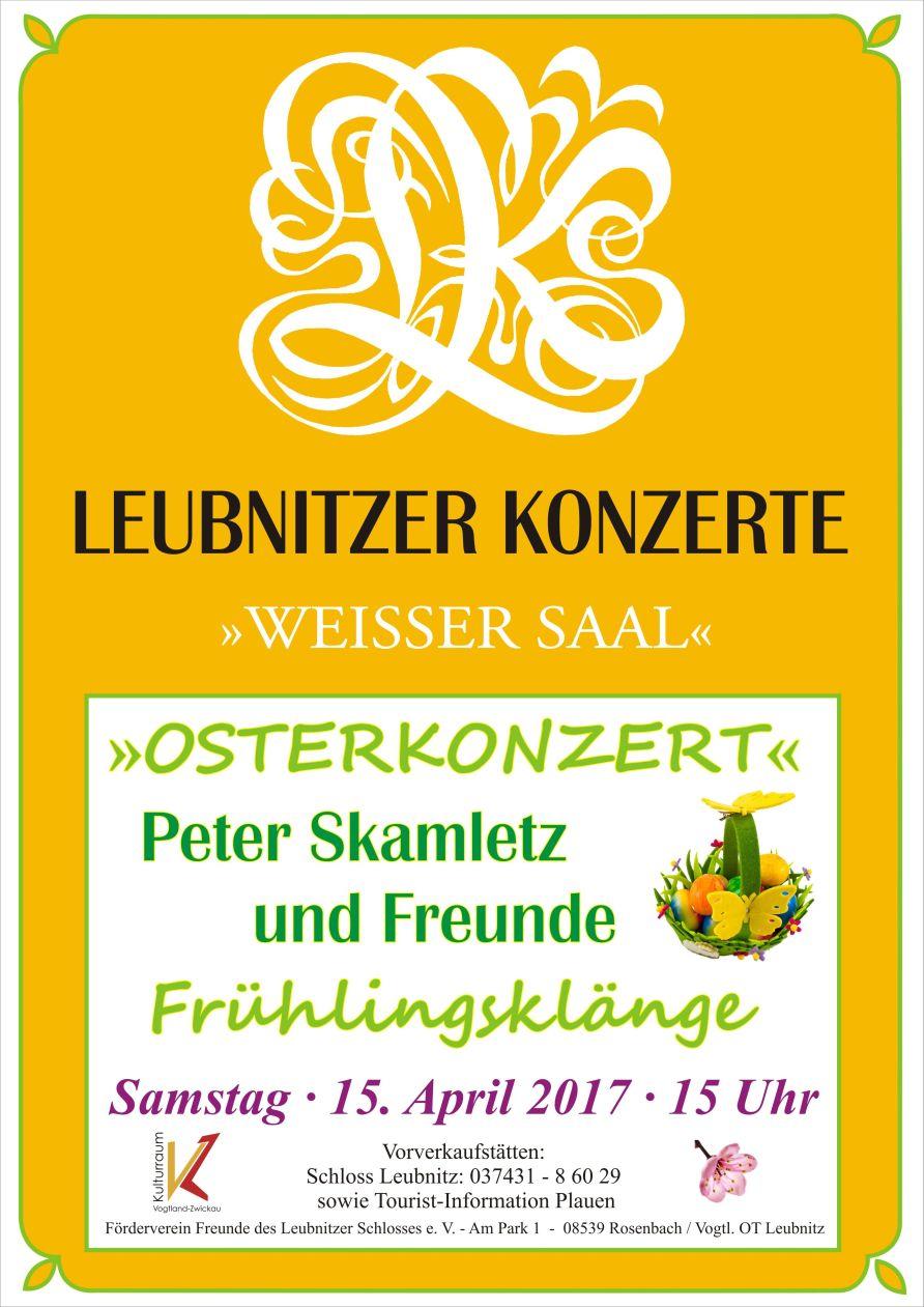 Plakat Osterkonzert