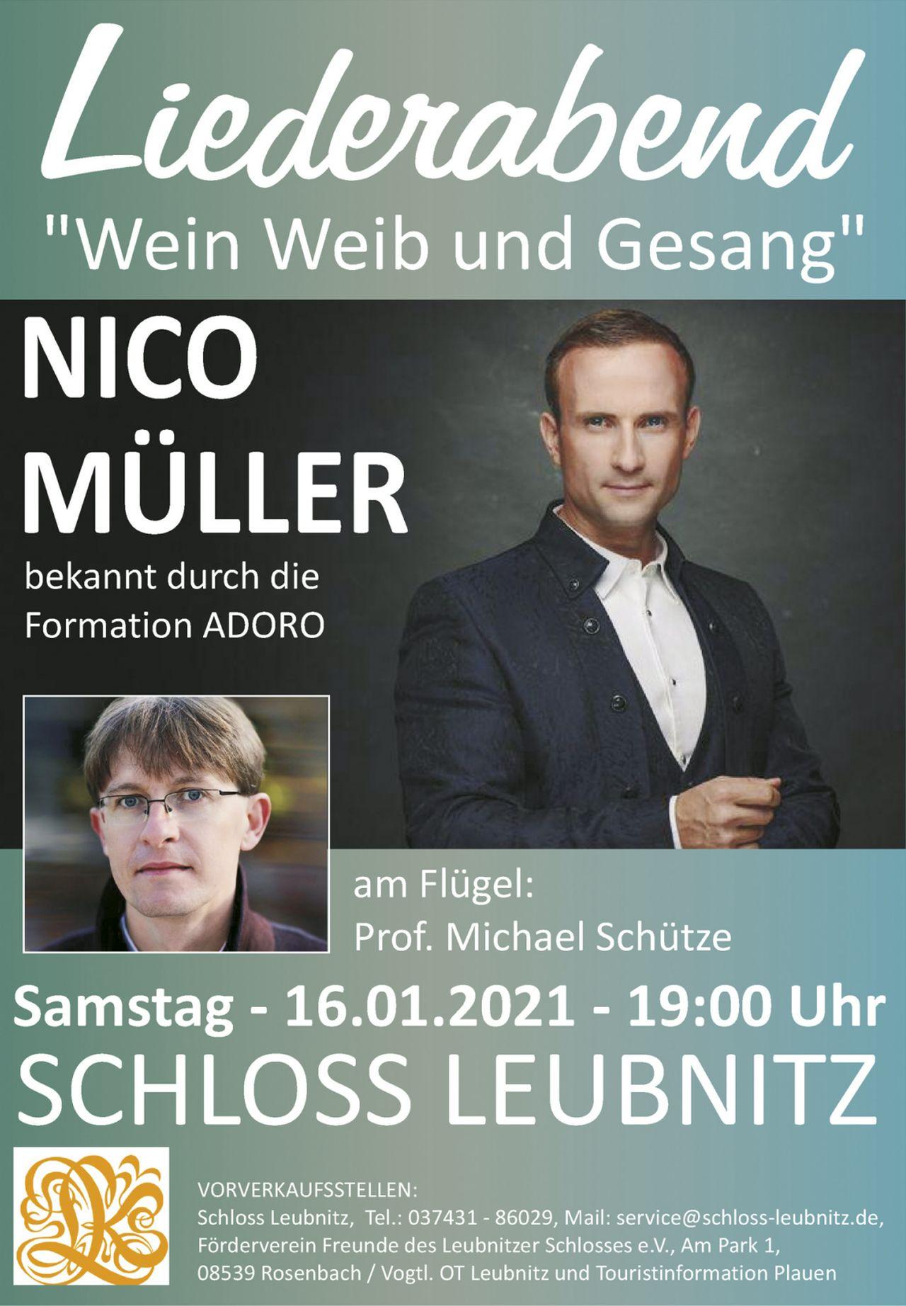 Plakat Nico Müller